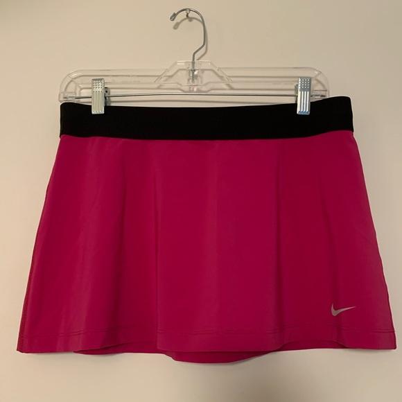Nike Dresses & Skirts - Nike tennis golf power Dri-fit pink skirt sz M